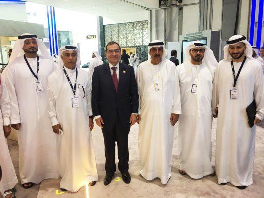 لقاءات مكثفة لوزير البترول مع رؤساء الشركات العالمية العاملة في مصر خلال مشاركته في مؤتمر الطاقة العالمى بأبوظبي