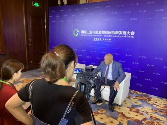 بالصور .. المهندس مدحت رمضان يشارك بفاعلية فى مؤتمر ربط العالم بالطاقة الذكية بالصين ويشيد بالتعاون المثمر مع SHINT