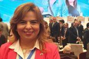 نائب رئيس نقابة البترول لشئون المرأه تشارك في المؤتمر الوطنى الثامن للشباب
