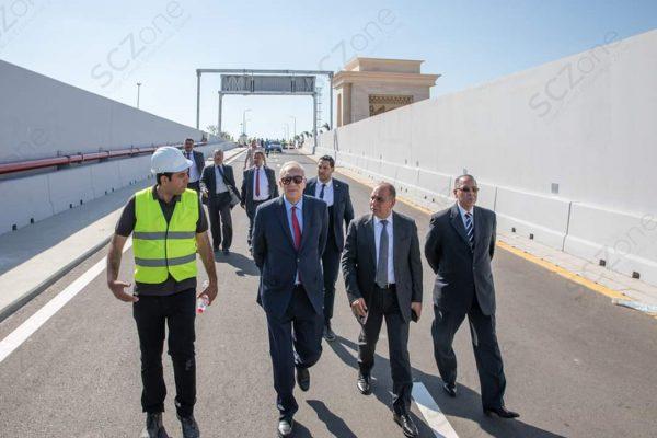 المهندس يحيى زكي : أنفاق بورسعيد أحد عوامل نجاح المنطقة الاقتصادية وتنمية سيناء