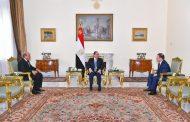 الرئيس السيسي يشهد حلف اليمين للنائب العام الجديد ورئيس مجلس الدولة