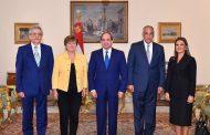 الرئيس السيسي يستقبل كريستالينا جورجييفا المرشحة لمنصب مدير عام صندوق النقد الدولي