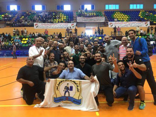 بوتاجاسكو تحرز فضية بطولة الجمهورية للشركات فى كرة اليد