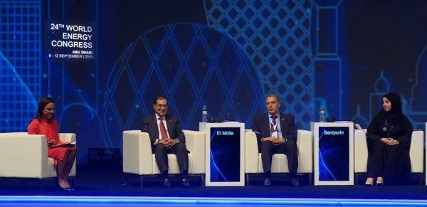 وزير البترول خلال مشاركته فى مؤتمر مجلس الطاقة العالمى بأبو ظبى: مصر نفذت برنامجاً اصلاحياً استعاد الاستقرار الاقتصادى ومعدلات النمو