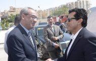 وزير الشباب والرياضة في احتفالية أكتوبر بنادي النصر للبترول