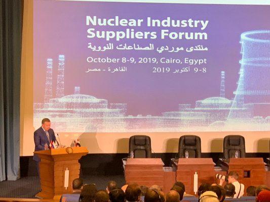 كوماروف: محطة الضبعة ستكون الأكثر أمانا في العالم .. ومصر اتخذت القرار السليم بدخولها في مجال الاستثمار النووي