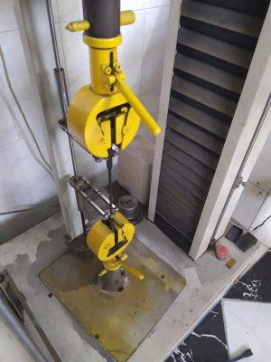 شاهد بالصور .. الاختبارات المعملية في مصنع الرواد HDPE لانتاج مواسير بولي ايثيلين حتي قطر 1200مم