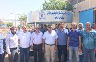 زياره مكوكية لرئيس شركة بوتاجاسكو لمحافظة سوهاج للتأكد من توافر اسطوانات البوتاجاز بالمستودعات