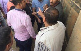 حملة من جنوب القاهرة لتوزيع الكهرباء لتحصيل متأخرات الشركة من منطقة الصف