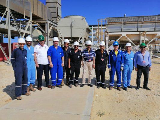 تنفيذاً لقرار وزير البترول .. رئيس شركة شمال سيناء للبترول في زيارة لحقول الشركة لمتابعة الإنتاج