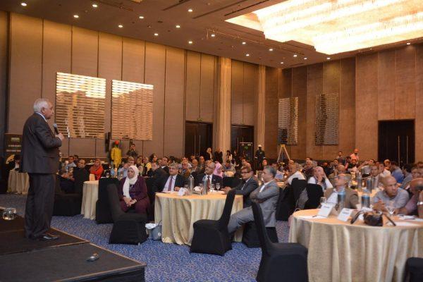 رئيس المركز العالمي للسلامة يوجه الشكر لكافة الشركات المشاركة في مؤتمر مهمات الوقايه الشخصية
