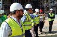 امام وقيادات pms يتفقدون مبنى الشركة الجديد بالتجمع الخامس