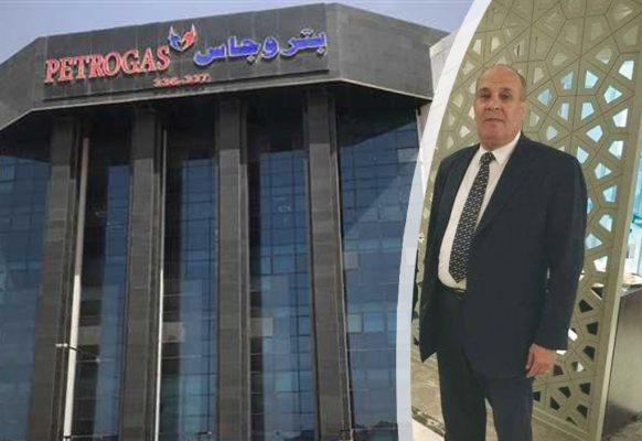 بتروجاس تتقدم بخالص العزاء والمواساة للمحاسب اشرف عبد الله نائب رئيس الهيئة للشئون المالية في وفاة شقيقه