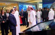 الرئيس السيسي يقوم بجولة في معرض أبو ظبي الدولي للبترول