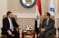 الملا يستقبل مساعد وزير التجارة الامريكي لمنافشة أنشطة الشركات الأمريكية العاملة في مصر في مجال البحث والاستكشاف عن البترول والغاز