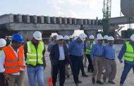 بالصور .. رئيس بتروجت يقوم بزيارة ميدانية لمشروع إنشاء الطريق الأوسطى 6 أكتوبر