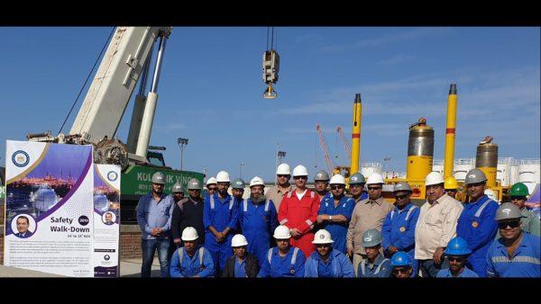 بقيادة الشرقاوي  .. ندوات مكثفة للتوعية بأهمية السلامة المهنية في كافة مواقع شركة رشيد للبترول