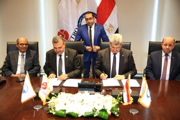 اتفاقية تعاون بين بتروجت وشركة تنمية للبترول لتنفيذ مشروعات تسهيلات الإنتاج المبكر لشركات الإنتاج بالقطاع
