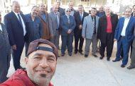 عاجل ... مشالى وقيادات نقل الكهرباء يطمئنون ميدانيا على انتهاء تنفيذ خط برج العرب - مرسى مطروح جهد 500 KV