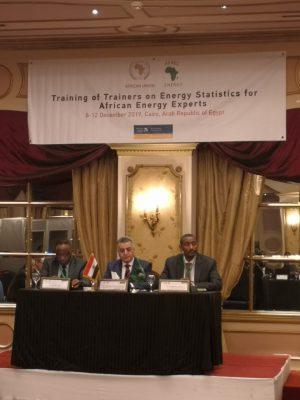 بحضور الدكتور موسي عمران ..إفتتاح البرنامج التدريبى حول إحصائيات الطاقة الأفريقية المنعقد بالقاهرة من ٨ إلى ١٢ ديسمبر