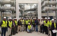 رئيس منطقة كهرباء القناة يتفقد العمل داخل محطة محولات السخنة ويثنى على إداء L&T لإنجاز المشروع بإتقان