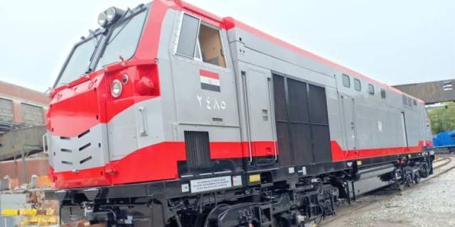 شركة GE تورد لمصر أول شحنة جرارات أمريكية جديدة للسكة الحديد