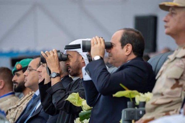 الرئيس السيسى: شرفت اليوم بافتتاح قاعدة برنيس وأشيد بالأداء المتميز لقواتنا المسلحة