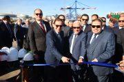 وزير البترول يدشن ناقلتين بحريتين جديدتين لتموين السفن لصالح شركة مصر للبترول