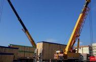 شركة MMC تنقل مهمات GIS جهد 500/220 kV لمحطة محولات كفر الشيخ الجديدة لحساب  تحالف  HYOSUNG _ ZTPC