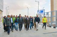 الدكتور محمد شاكر وزير الكهرباء يتفقد محطة محولات العاصمة الادارية الجديدة  SS2 جهد 220/22  KV  بعد وضع الجهد عليها منذ يومين