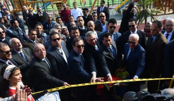 وزير البترول يفتتح مشروعات جديدة للمشاركة المجتمعية بالحى الإماراتى ببورسعيد