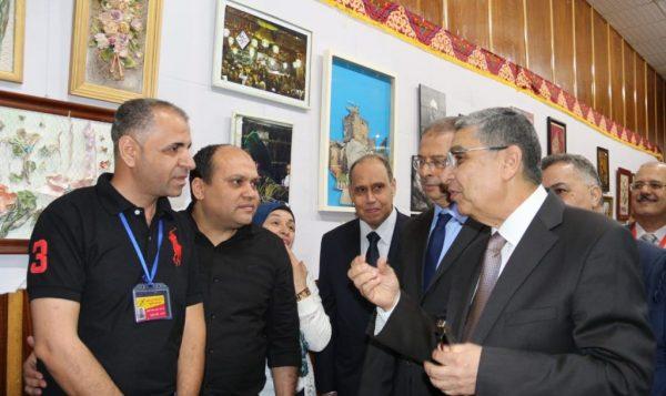 افتتاح معرض الفنون التشكيلية للعاملين بشركة شمال القاهرة للتوزيع