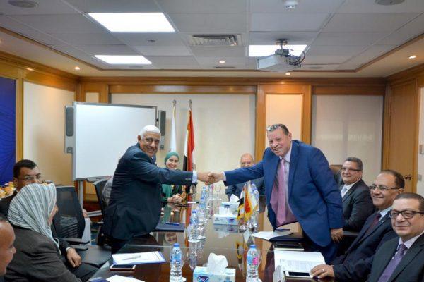 المصرف المتحد وشركة مصر للتأمين التكافلي يوقعان عقد تقديم وثيقة تأمين حوادث شخصية