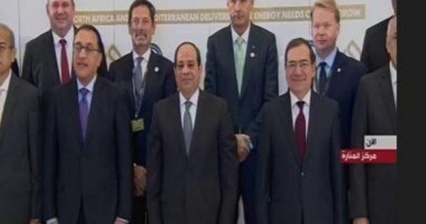 الرئيس السيسي يشهد افتتاح مؤتمر ومعرض مصر الدولى للبترول