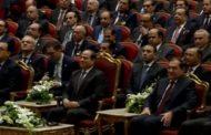 الرئيس السيسي يتفقد الان أجنحة الدول المشاركة بمعرض