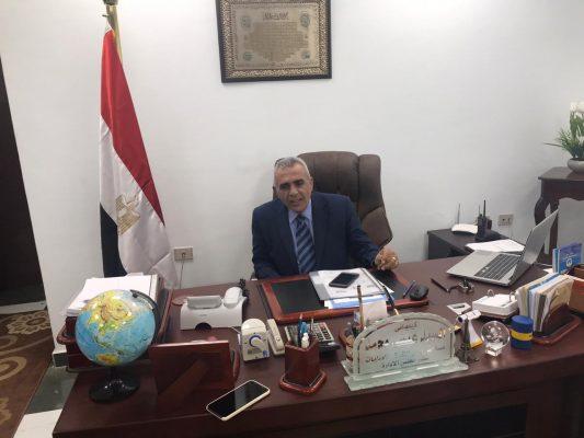 السيد عيسي قائما بأعمال رئيس شركة اسكندرية للبترول