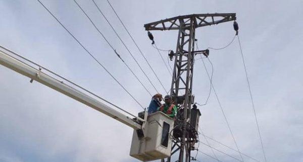 اصابة طفلين بصعق كهربائي بجوار محطة محولات قولنجيل بالمنصورة