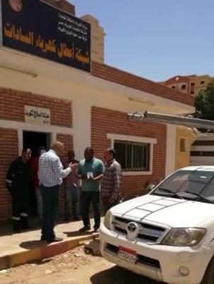 ابو وردة يتفقد مركز تحكم مصر العليا للوقوف علي جاهزية فرق الاعطال على مستوى جميع القطاعات