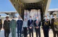 بتوجيهات الرئيس.. وزيرة الصحة ووفد عسكري في إيطاليا لتسليم شحنة مساعدات طبية .. صور