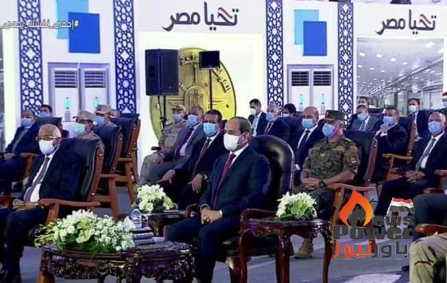 الرئيس يشهد افتتاح المدينة الصناعية بالروبيكى.. ويؤكد: