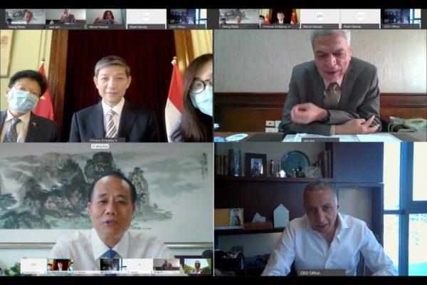 رئيس الوزراء يستعرض تقريراً من رئيس الهيئة المصرية  للشراء الموحد بشأن التعاون مع الجانب الصيني