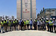 لجنة من منطقة كهرباء القناة تتفقد مشروع محطة محولات S4 برأس غارب وتثنى على أداء L&T