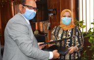 مدكور تقبل تحد جديد لإنجاز أحد المشاريع القومية و الإستراتيجية في مصر