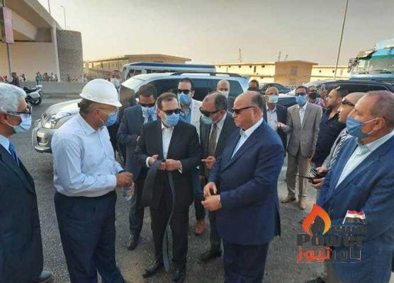 رئيس شركة أنابيب البترول : السيطرة علي حريق خط خام