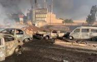 خسائر حريق خط المازوت بطريق مصر الاسماعيلية .. تفحم ٣١ سيارة ومعرضا للسيارات و٧ مصابين