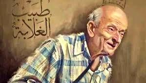 انبى تعزى ابنها عمرو مشالى فى وفاة والده