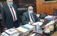 رئيس جنوب الدلتا لتوزيع الكهرباء يصدر قرارا بترقية 853عاملا بالشركة