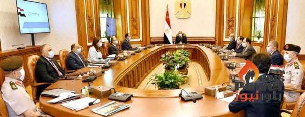 الرئيس السيسي يوجه بصياغة رؤية استراتيجية لتطوير قطاع التعدين في مصر في حضور الملا وشاكر