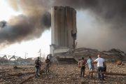 انفجار ضخم في بيروت.. 10 قتلى ومئات الجرحي ودمار هائل