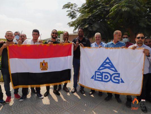 رئيس شركة الحفر المصرية وقيادات الشركة يتوجهون لصناديق الاقتراع للمشاركة في انتخابات مجلس الشيوخ